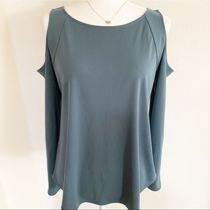 Ann Taylor Cold Shoulder Long Sleeve Small